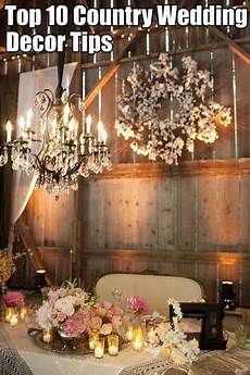 wedding decor ideas country