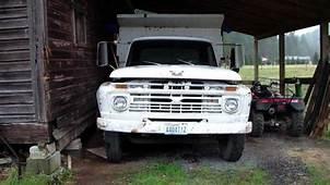 My Dads 1966 Ford F600 5 Yard Dump Truck Walk Around