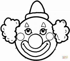clown s coloring page free printable coloring pages
