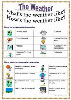 weather worksheets for elementary school 14545 what s the weather like worksheet free esl printable worksheets made by teachers