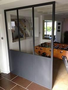 cloison vitrée cuisine verriere d interieur cloison vitr 233 e r 233 alisations