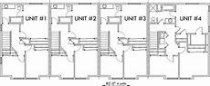 4 plex house plans 4 plex plans fourplex with owners unit quadplex plans f 537
