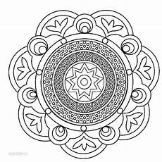 printable mandala coloring pages for cool2bkids