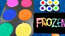 how to make frozen paint for kids youtube