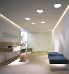 Abgeh 228 Ngte Decke Mit Indirekter Beleuchtung Als Dekoration