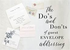 How To Address Formal Wedding Invitations