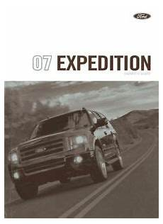best auto repair manual 2007 ford expedition free book repair manuals 2007 ford expedition owners manual user guide reference operator book fuses ebay