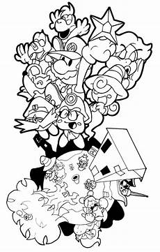 paper bowser coloring pages 17646 paper mario thousand year door by pembroke on deviantart