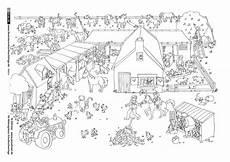 Ausmalbild Pferde Bauernhof Als Pdf Natur Bauernhof Ponyhof Bauernhof