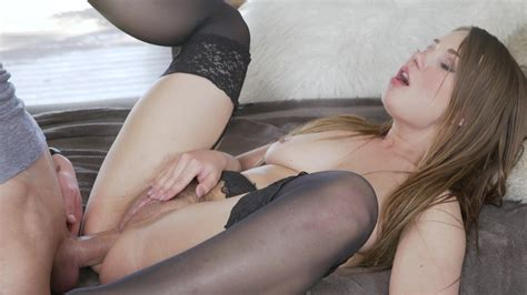 Busty Lingerie Anal