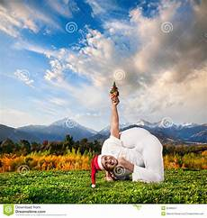 christmas yoga stock image image of santa advance pilates 22486247