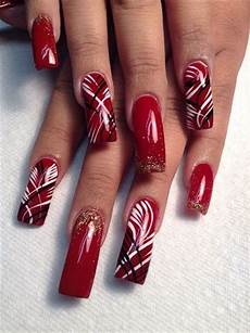 50 cute red nails art for your valentines day red nails