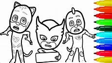 pj masks coloring pages colouring pages for
