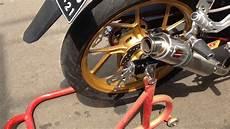 Modif Satria Fu Road Race Style by Suzuki Satria 150 Fu Injeksi Black Predator Modif
