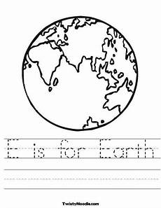 taking care of the earth worksheets 14434 e is for earth worksheet from twistynoodle taking care of the earth theme