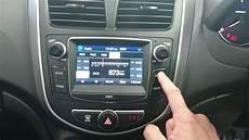 2016 2017 hyundai accent gps navigation upgrade kit