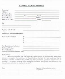 40 sle requisition form in pdf