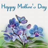 Beautiful Flower And Heart Design For Happy Mothers Day
