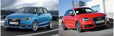 audi a1 facelift 2015 audi a1 facelift what s new uk side by side comparison