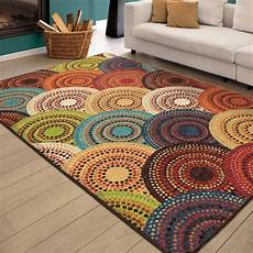 Kitchen Area Rugs Walmart by Better Homes And Gardens Circle Block Area Rugs Or Runner
