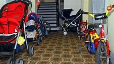 nicht gegen die brandvorschriften kinderwagen im