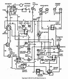 troy bilt 13060 18hp hydro garden tractor s n 130600100101 parts diagram for wiring diagram