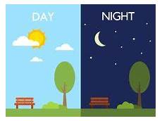 sistema del icono de la noche de la tarde del d 237 a de la ma 241 ilustraci 243 n del vector