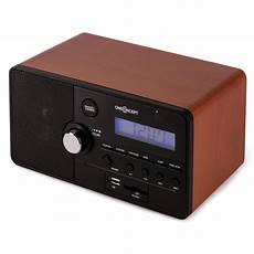 oneconcept radio wecker usb aux sd mp3 ukw tuner