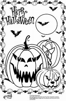 scary pumpkin coloring pages team colors