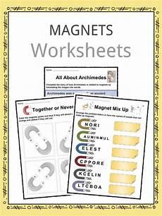 grade 3 science worksheets magnets 12538 magnet facts worksheets information for