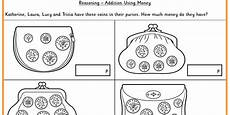 addition using money ks1 reasoning test practice