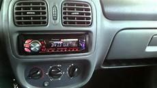 renault clio ii 1998r car audio test