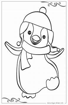 Malvorlage Pinguin Einfach Pinguine Bilder Zum Drucken Und Ausmalen