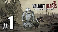 the great war valiant hearts the great war walkthrough part 1 ps4