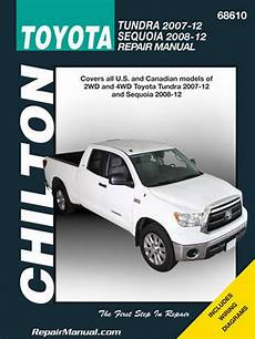 car maintenance manuals 2011 toyota sequoia user handbook chilton 2007 2012 toyota tundra 2008 2012 sequoia repair manual