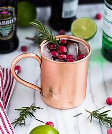 a moscow mule recipe served in a copper mug