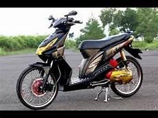 Modifikasi Motor Beat Terbaru by Tm2 Modifikasi Motor Honda Beat Airbrush Warna