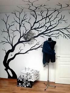 Deko Baum Wand Wandbild Mit Einem Baum Zusammen Jahrgang