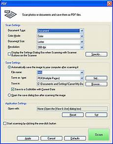 Canon Knowledge Base Scanning Pages To A Single