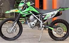 Variasi Motor Klx by Melirik Enam Tilan Garang Modifikasi Motor Klx