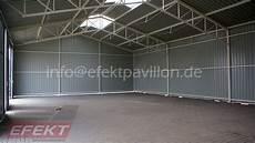 halle lagerhallen stahlkonstruction efekt pavillon