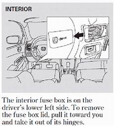 Is A Diagram Of A 2003 Honda Accord Fuse Panel Available