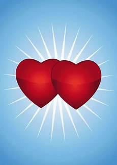 coeur de image de 2 coeurs image de