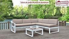 Salons De Jardin Palaos En Aluminium Gris Taupe