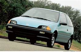 10 Most Fuel Efficient Cars Since 1984  1990 94 Geo Metro