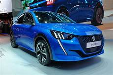 new electric peugeot e 208 revealed with 211 mile range