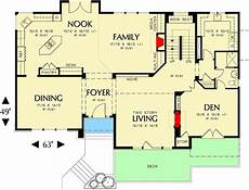 house plans for hillsides hillside friendly home plan 6971am architectural