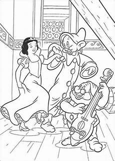 Ausmalbilder Prinzessin Schneewittchen Ausmalbild Tanzen Mit Schneewittchen Malvorlage