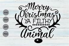 merry christmas ya filthy animal graphic by cosmosfineart 183 creative fabrica