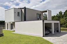 Contemporary Flat Roof House Modern Glass Houses Kager